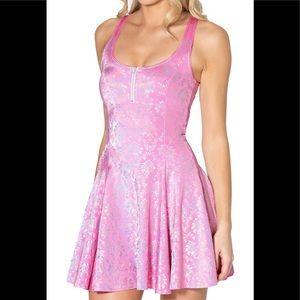 Wallpaper Princess Pink Evil ZIP Dress size Large